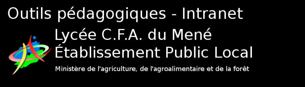 Actualité du lycée C.F.A. du Mené et de l'exploitation – Les Blogs